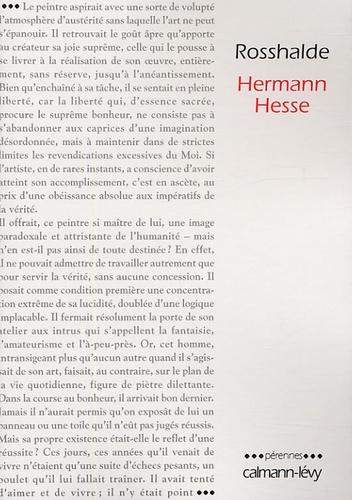 Hermann Hesse - Rosshalde.