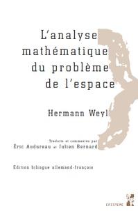 Lanalyse mathématique du problème de lespace - Pack en 2 volumes : Tomes 1 et 2.pdf