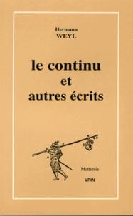 Le continu et autres écrits.pdf