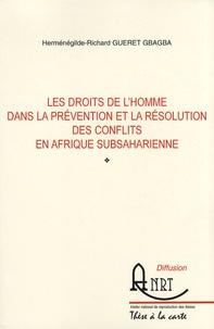 Les droits de lhomme dans la prévention et la résolution des conflits en Afrique subsaharienne.pdf