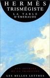 Hermès Trismégiste - .