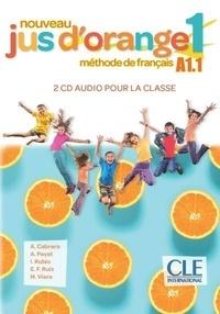 Hernandez a. Cabrera et Adrien Payet - Jus d'orange Niveau A1.1 - CD audio collectifs.