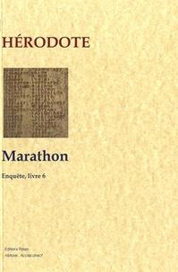 Hérodote - Enquête - Livre 6, Marathon.