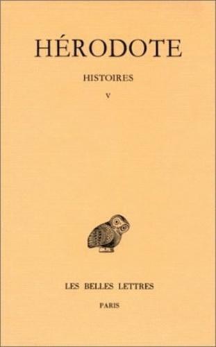 Hérodote - Histoires - Tome V, Tepsichore.