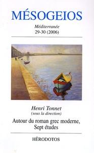 Henri Tonnet et Alexis Politis - Mésogeios N° 29/30, 2006 : Méditerranée - Histoire, peuple, langues, cultures.