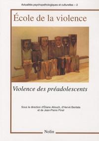 Ecole de la violence - Violence des préadolescents.pdf