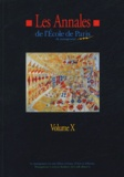 Hervé Borensztejn et Fabienne Arata - Les Annales de l'Ecole de Paris du management - Volume 10, Travaux de l'année 2003.