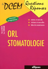 Hervé Bozec et Luc Chikhani - ORL-stomatologie.