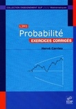 Hervé Carrieu - Probabilité - Exercices corrigés.
