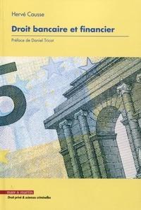 Hervé Causse - Droit bancaire et financier.