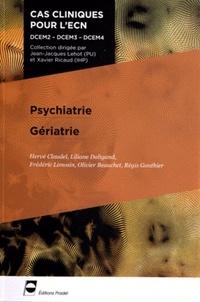 Hervé Claudel et Liliane Daligand - Psychiatrie Gériatrie.