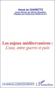 Hervé de Charette - Les enjeux méditerranéens : l'eau, entre guerre et paix.
