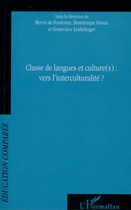 Deedr.fr Classe de langues et culture(s) : vers l'interculturalité ? - Actes du 9e colloque international de l'AFDECE, Université Mc Gill, Université de Montréal, Québec Image