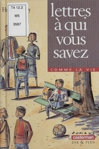 Hervé Debry - Lettres à qui vous savez.
