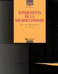 Accentsonline.fr Fondements de la microéconomie. Volume 1, Les choix individuels Image