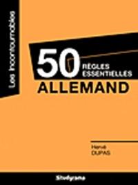 Checkpointfrance.fr Allemand - 50 règles essentielles Image
