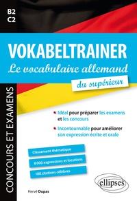 Deedr.fr Vokalbeltrainer, le vocabulaire allemand du supérieur B2-C2 - Classement thématique, 8 000 expressions et locutions, 180 citations célèbres Image