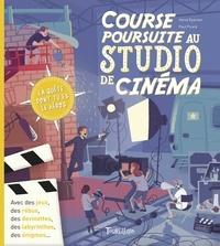 Hervé Eparvier et Paul Picard - Course poursuite au studio de cinéma.