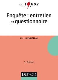 Hervé Fenneteau - L'enquête : entretien et questionnaire.