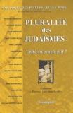 Hervé Gabrion et Fernande Ammouial - Pluralité des judaïsmes : unité du peuple juif ? - 1er colloque des intellectuels juifs à Lyon, le dimanche 27 octobre 2002.