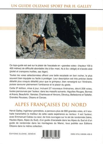 Escalade plaisir Alpes françaises du Nord. 206 grandes voies du 4a au 6a plus d'accès aisé