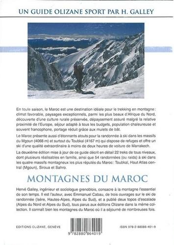 Montagnes du Maroc. Trekking et ski de randonnée