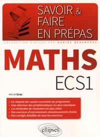 Hervé Gras - Mathématiques ECS1.