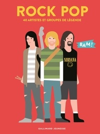 Rock pop- 40 artistes et groupes de légende - Hervé Guilleminot |