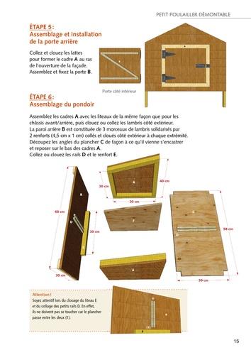 Construire un poulailler. 12 modèles à réaliser soi-même