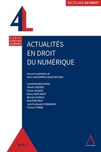 Hervé Jacquemin et Benoît Michaux - Actualités en droit du numérique.