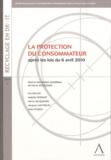 Hervé Jacquemin - La protection du consommateur - Après les lois du 6 avril 2010.