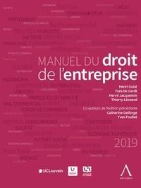 Hervé Jacquemin et Henri Culot - Manuel du droit de l'entreprise.