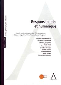Hervé Jacquemin et Maureen Degueldre - Responsabilités et numérique.