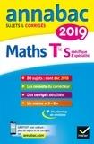 Hervé Kazmierczak et Christophe Roland - Annales Annabac 2019 Maths Tle S spécifique & spécialité - sujets et corrigés du bac   Terminale S.