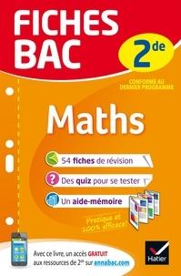 Hervé Kazmierczak et Christophe Roland - Fiches bac Maths 2de - fiches de révision   Seconde.