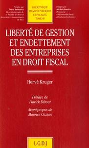 Galabria.be Liberté de gestion et endettement des entreprises en droit fiscal Image