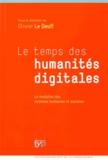 Hervé Le Deuff - Les temps de humanités digitales - La mutation des sciences humaines et sociales.
