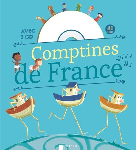 Hervé Le Goff et Vincent Clément - Comptines de France pour les petits. 1 CD audio