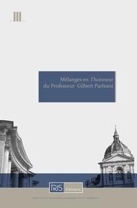 Hervé Le Nabasque et Benoît Lecourt - Mélanges en l'honneur du Professeur Gilbert Parleani.