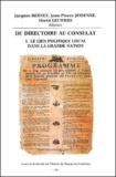 Hervé Leuwers et  Collectif - Du Directoire au Consulat. - Tome 1, Le lien politique local dans la Grande Nation.
