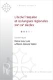 Hervé Lieutard et Marie-Jeanne Verny - L'école française et les langues régionales.