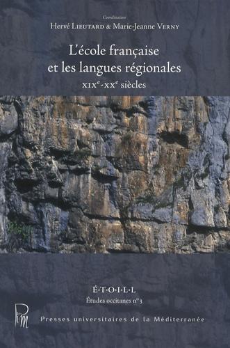L'école française et les langues régionales  avec 1 DVD