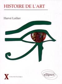 Hervé Loilier - Histoire de l'art.