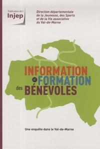 Hervé Mécheri - Information et formation des bénévoles - Une enquête dans le Val-de-Marne.