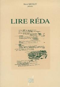 Hervé Micolet - Lire Réda.