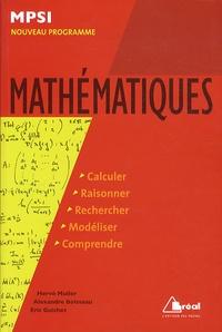 Hervé Muller et Alexandre Boisseau - Mathématiques MSPI.