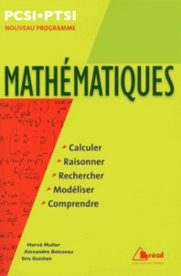 Hervé Muller et Alexandre Boisseau - Mathématiques PCSI-PTSI - Programme 2013.