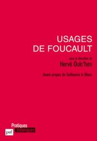 Livres à télécharger en mp3 Usages de Foucault par Hervé Oulc'hen