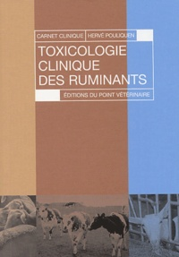 Hervé Pouliquen - Toxicologie clinique des ruminants.