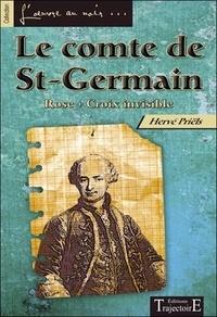 Hervé Priëls - Le comte de Saint-Germain - Rose + Croix invisible.